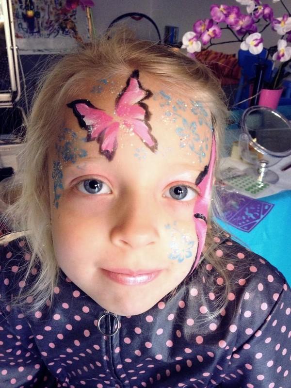 Maquillage enfant papillon strasbourg Maquillage de diablesse facile a faire